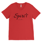 Spirit Men's V-Neck - Spiritualitees [Black]