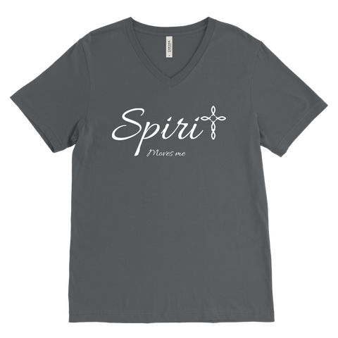 Spirit Men's V-Neck - Moves Me