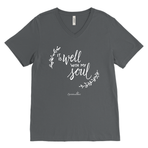 It Is Well With My Soul Men's V-Neck