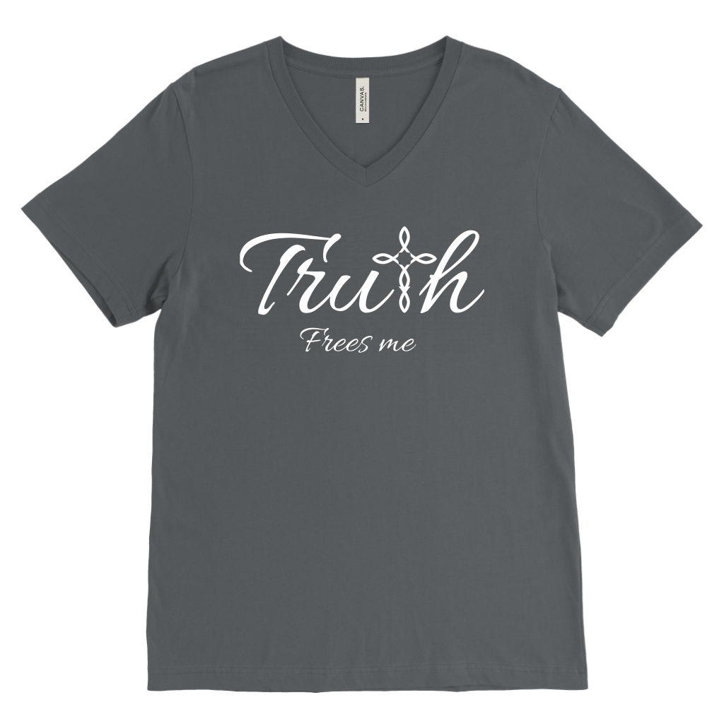 Truth Men's V-Neck - Frees Me