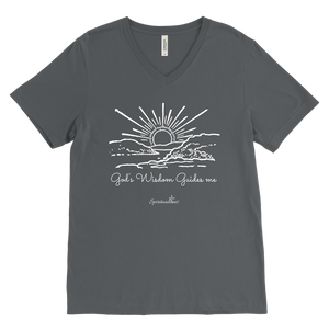 God's Wisdom Men's V-Neck