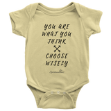 You Are What You Think Baby Bodysuit