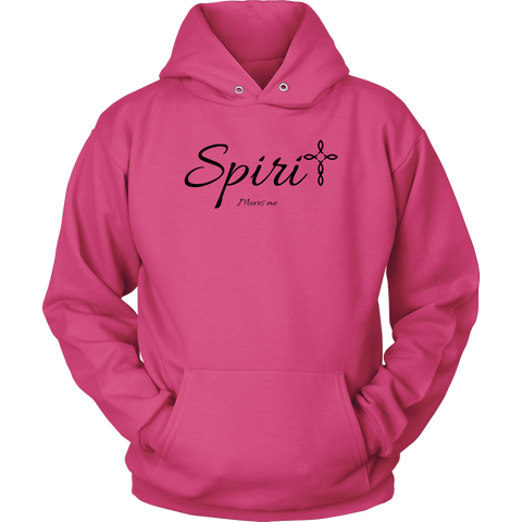 Spirit Unisex Hoodie - Moves Me [Black]