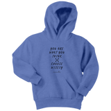 You Are What You Think Youth Hoodie