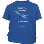 God Is Your Co-Pilot Youth T-Shirt