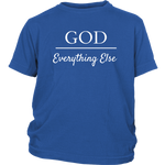 God Over Everything Else Youth T-Shirt