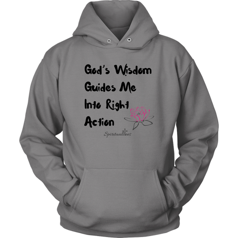 God's Wisdom Guides Me Unisex Hoodie