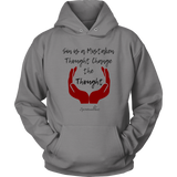 Change The Thought Unisex Hoodie [Black]