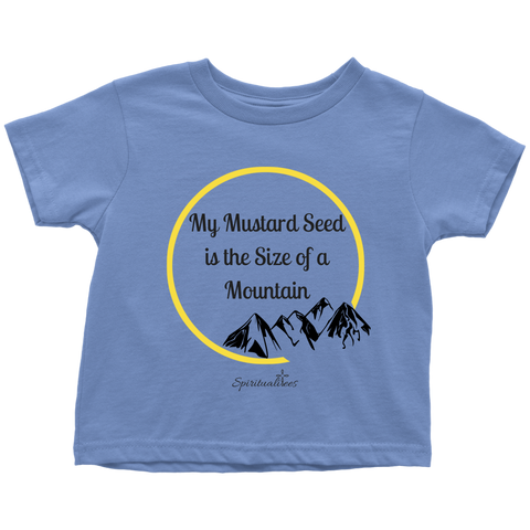 My Mustard Seed Toddler T-Shirt [Black]