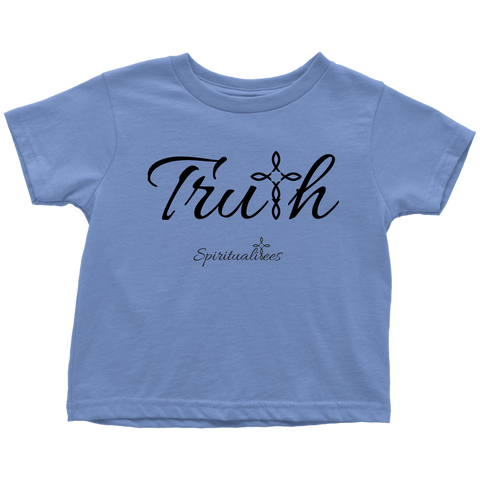 Truth Toddler T-Shirt - Spiritualitees [Black]