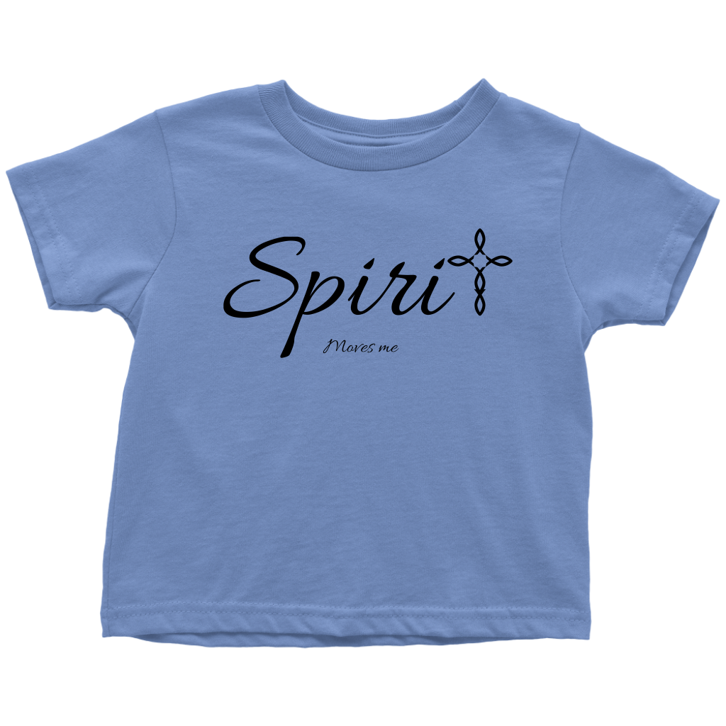 Spirit Toddler T-Shirt - Moves Me [Black]