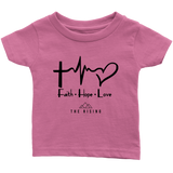 Faith Hope Love - The Rising Utah - Infant T-Shirt