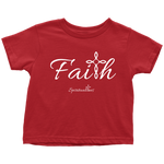 Faith Toddler T-Shirt - Spiritualitees