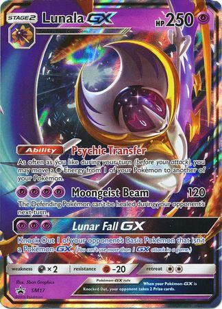 Pokemon TCG Online Legends of Alola Lunala GX Promo Code