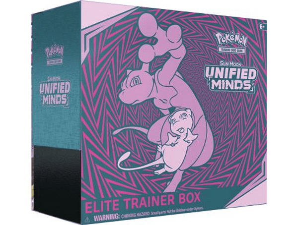 Pokemon TCG Online Unified Minds Elite Trainer Box Code