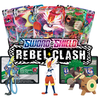Pokemon TCG Online Rebel Clash Booster Pack Code