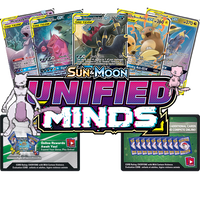 Pokemon TCG Online Unified Minds Booster Pack Code