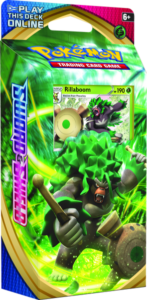 Pokémon TCG Online Sword and Shield Rillaboom Theme Deck Code