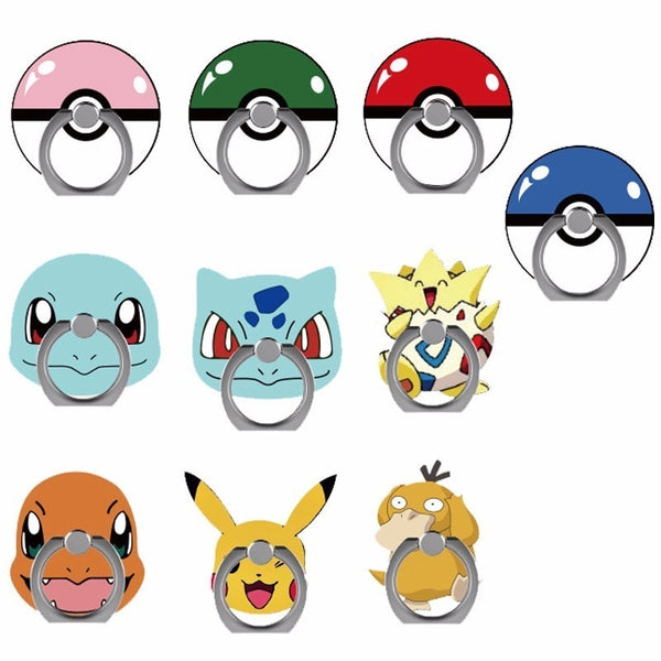 Pokemon Mobile Phone Holder Ring