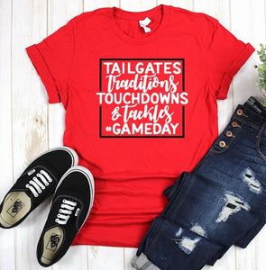 #Gameday Tee - Pecan Hill Boutique