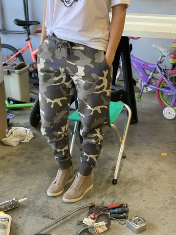 Camo Joggers - Pecan Hill Boutique