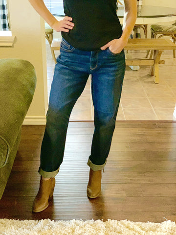 Boyfriend Jeans - Pecan Hill Boutique