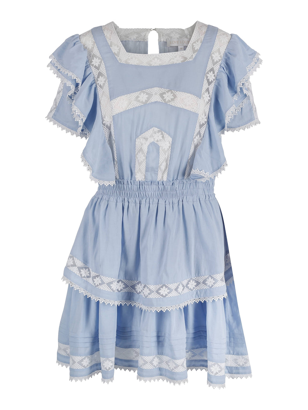 Alexa Dress Light Blue