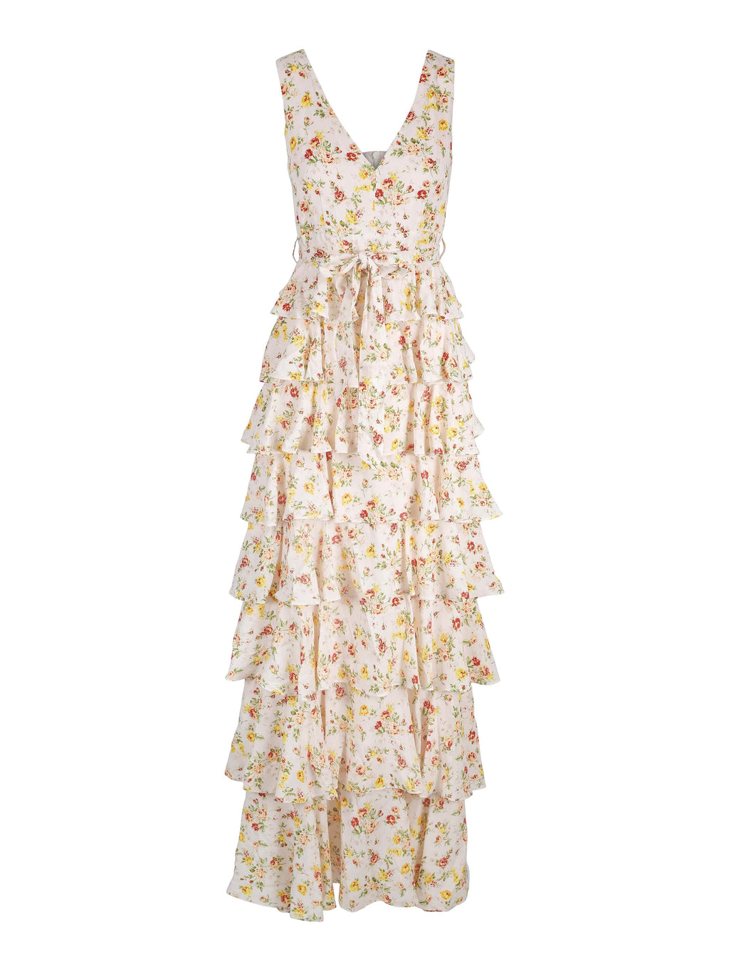 Angel Maxi Dress Yellow Flower Bomb