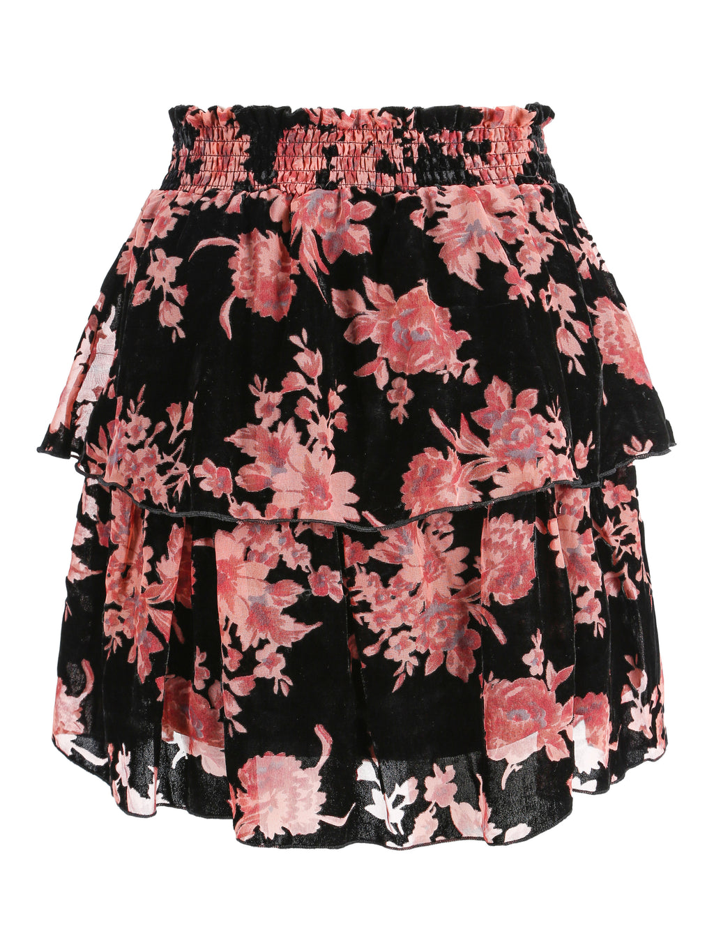 Beso Skirt Rose Velvet