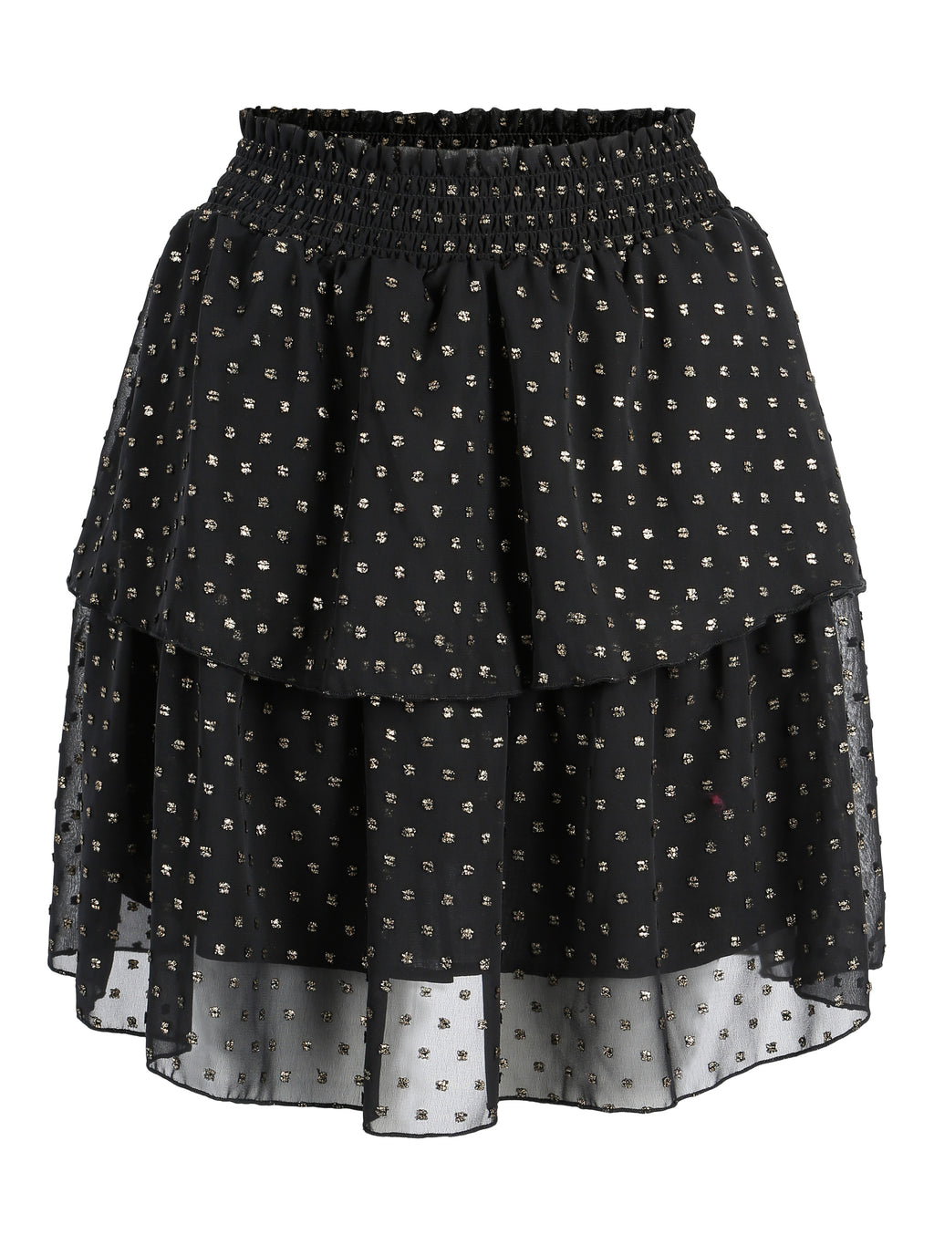 Beso Skirt Black Gold
