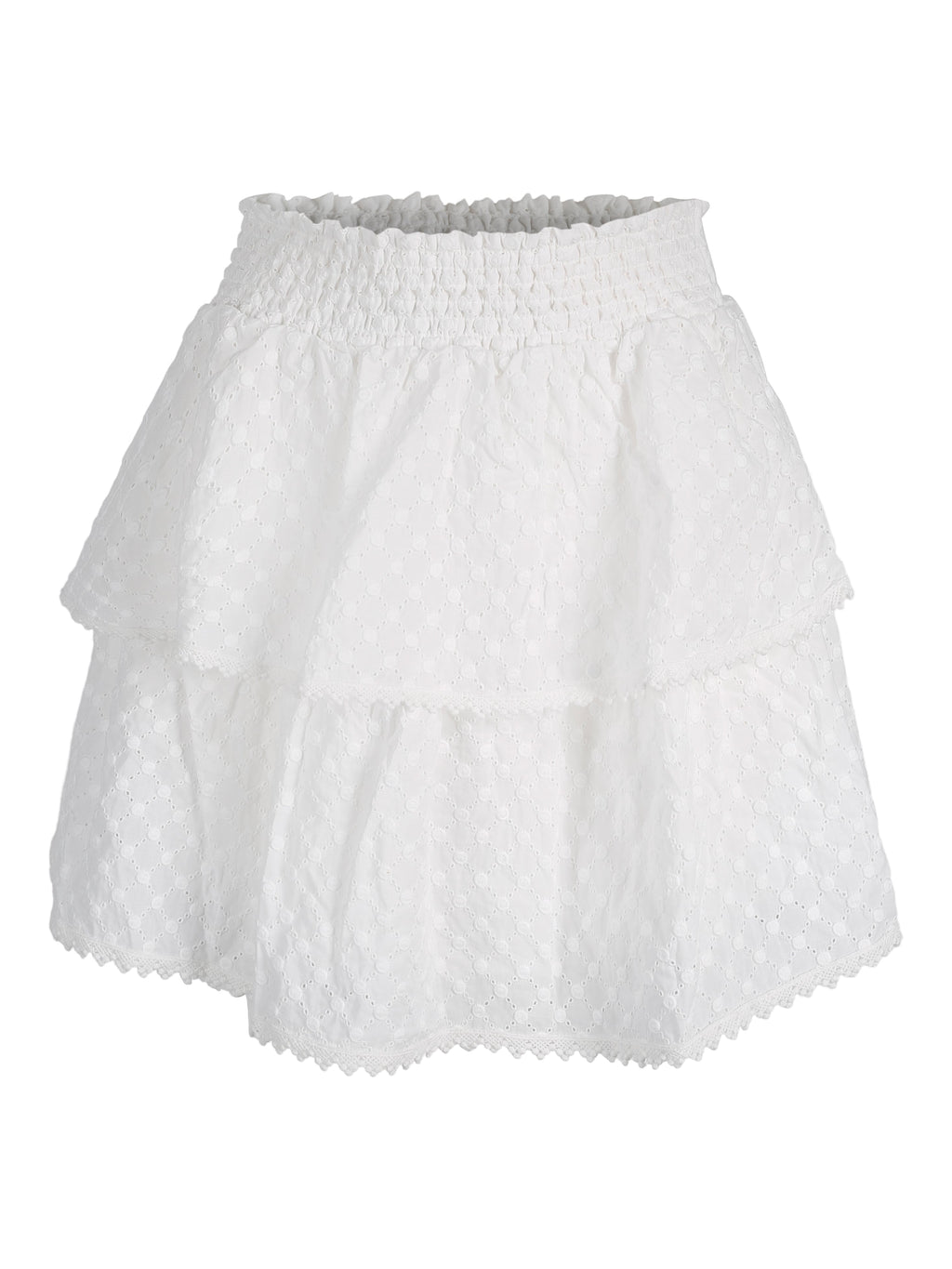 Beso Skirt White