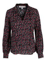 Charlize Blouse Black Flower