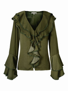 You added Corinne Blouse Army Green to your cart.