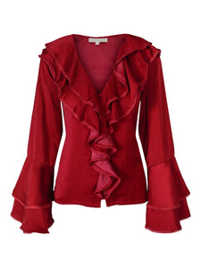 You added Corinne Blouse Misty Red to your cart.