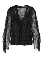 Crystal Blouse Black