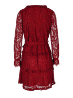 Grace Dress Bordeaux