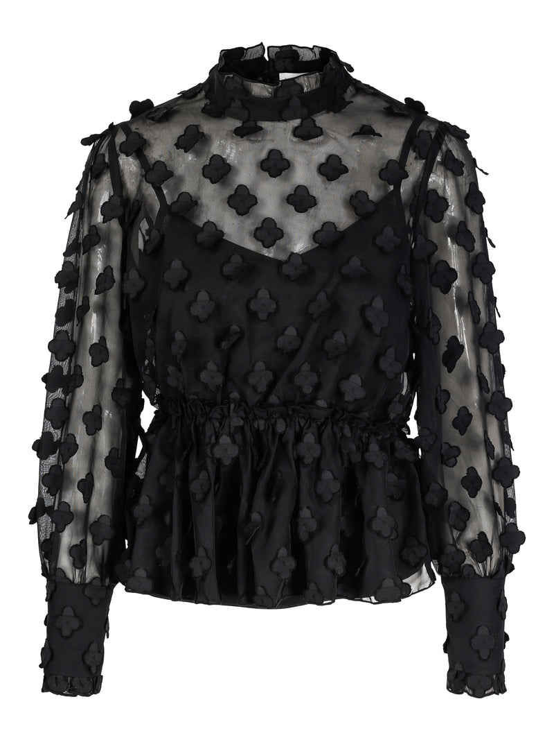 Love Lolita Alice Blouse Black