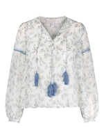 Love Lolita Frida Blouse Blue Flower