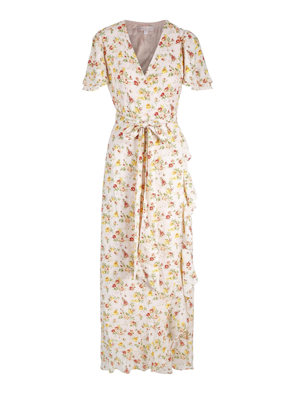 Gabriella Maxi Dress Yellow Flower Bomb