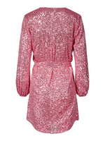 Harley Dress Pink Sequin