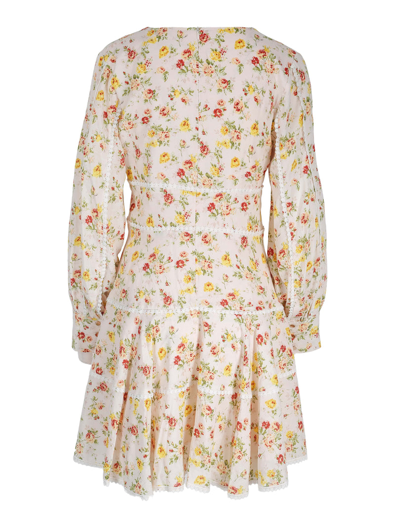 Holly Dress Yellow Flower Bomb