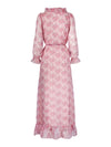 Valentina Maxi Dress Pink Rose