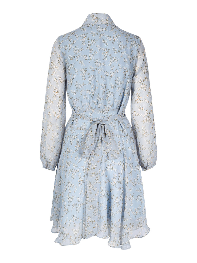 Love Lolita Iza Dress Blue Flower