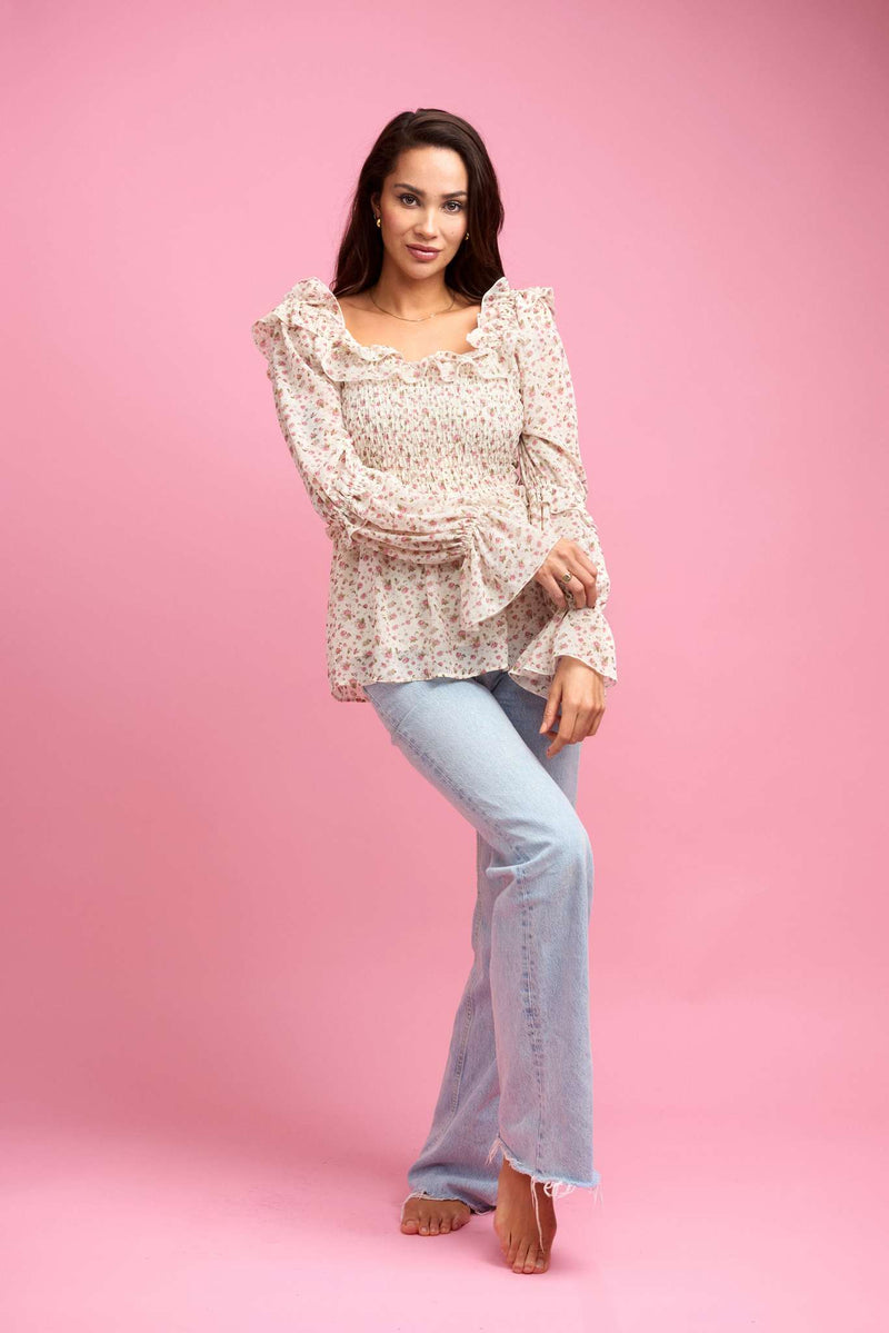 Naomi Blouse Little Rose
