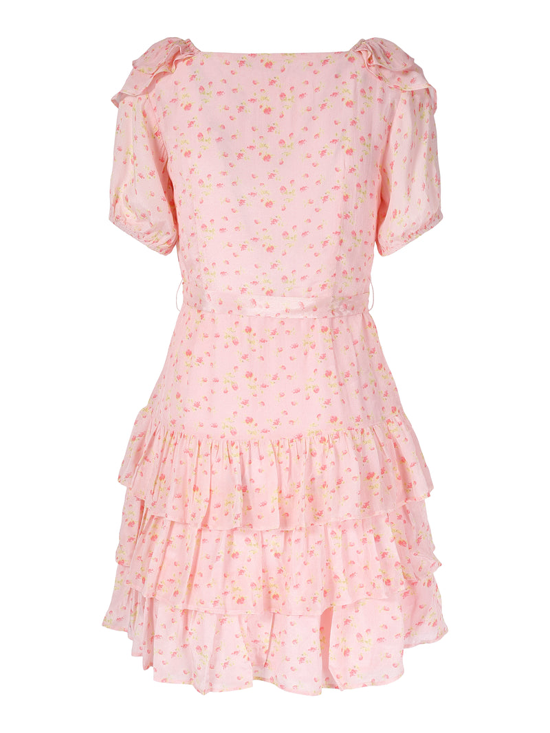 Sasha Dress Pink Flower