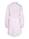 Shirley Dress Pink Stripe