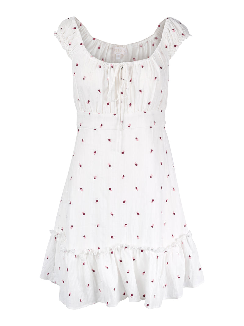 Vanessa Dress Pink Dot