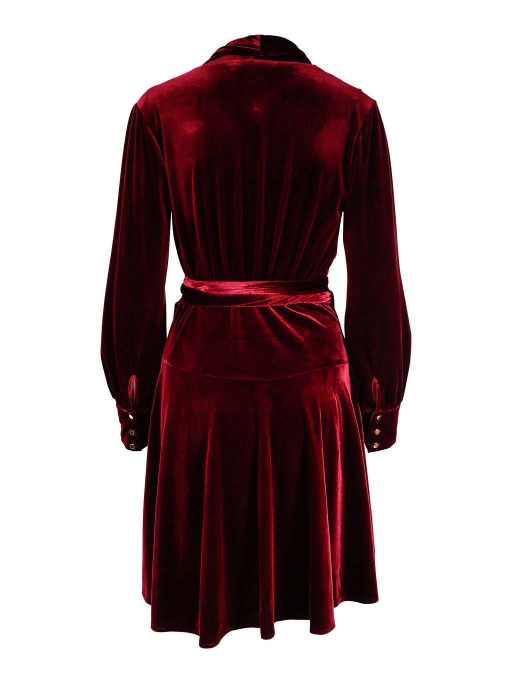 Iza Dress Bordeaux Velvet
