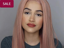 Glamorous Straight Long pink red Wig - rongcp