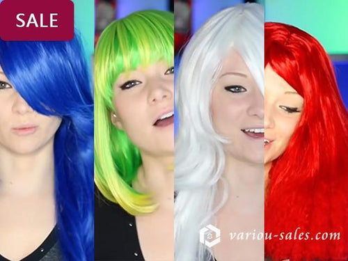 Best Halloween Crazy Wig Collection - rongcp